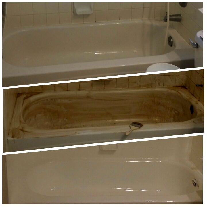 Ugly tub? We can help! Reglaze your tub instead of replacing it.