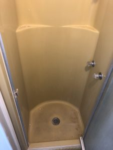 Fiberglass Shower Before